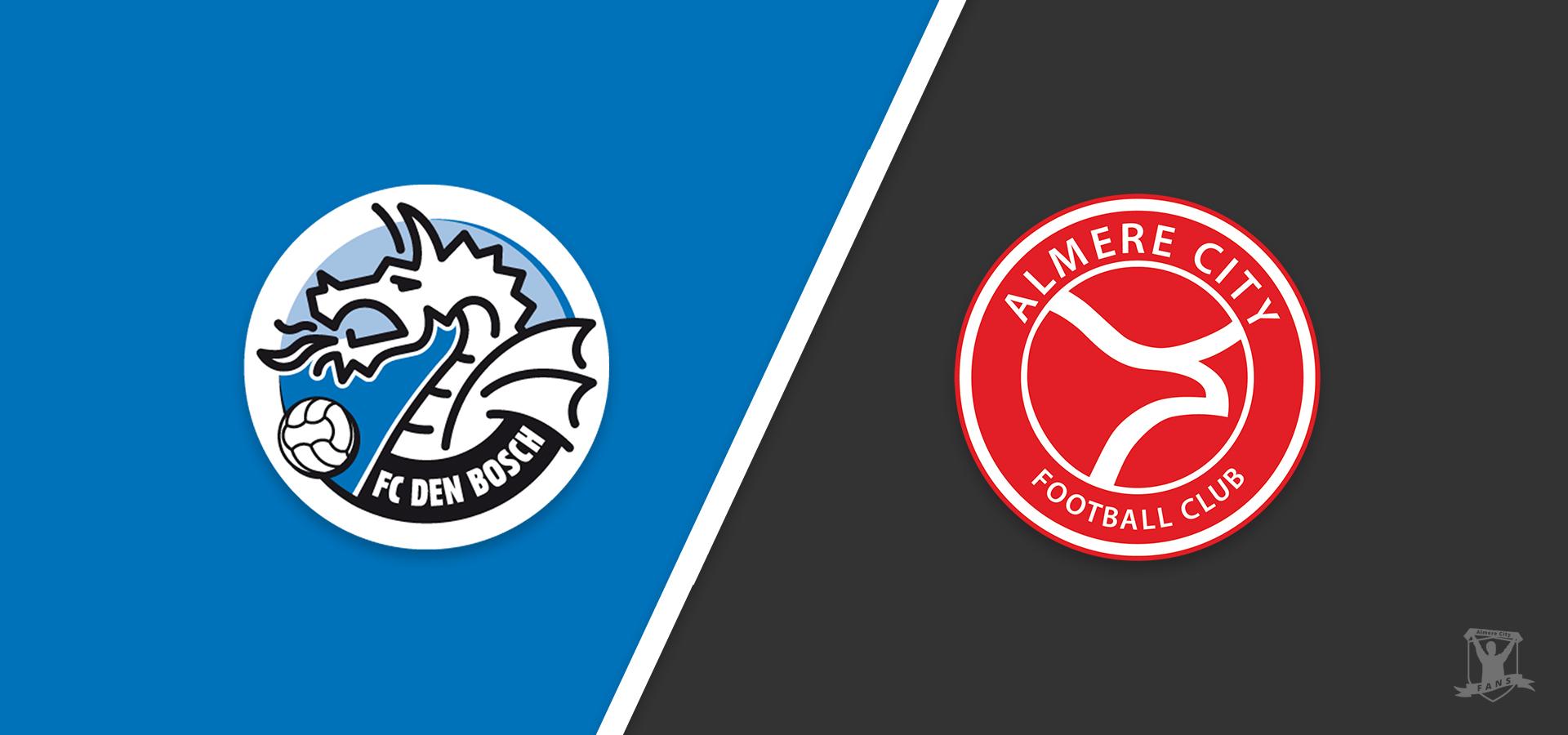 Voorbeschouwing: Almere City FC favoriet in duel tegen FC Den Bosch