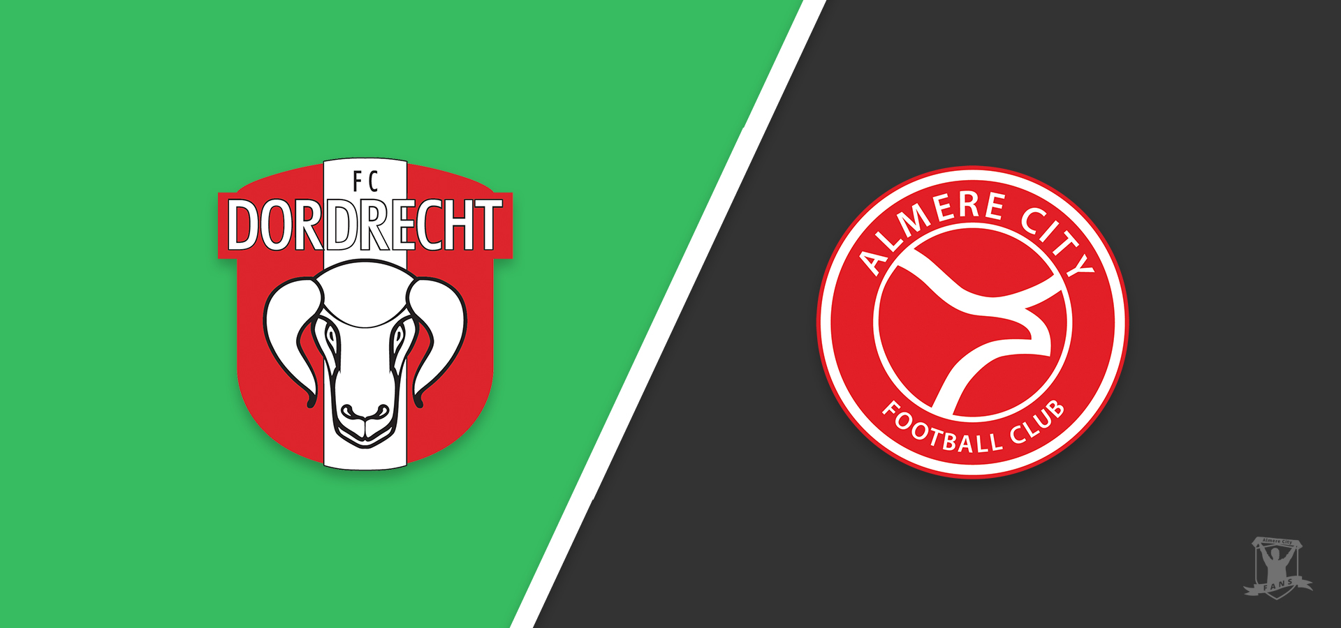 Almere City FC wacht lastige uitwedstrijd bij FC Dordrecht