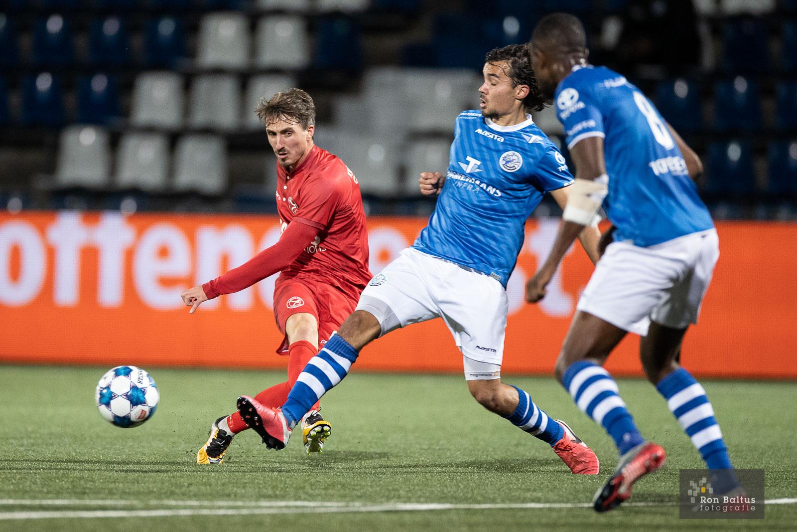 Tim Receveur en Agil Etemadi voor 2 seizoenen langer in Almere