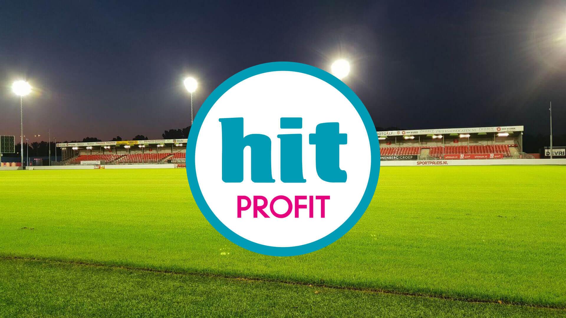 Almere City FC vindt in HIT Profit een nieuwe hoofdsponsor