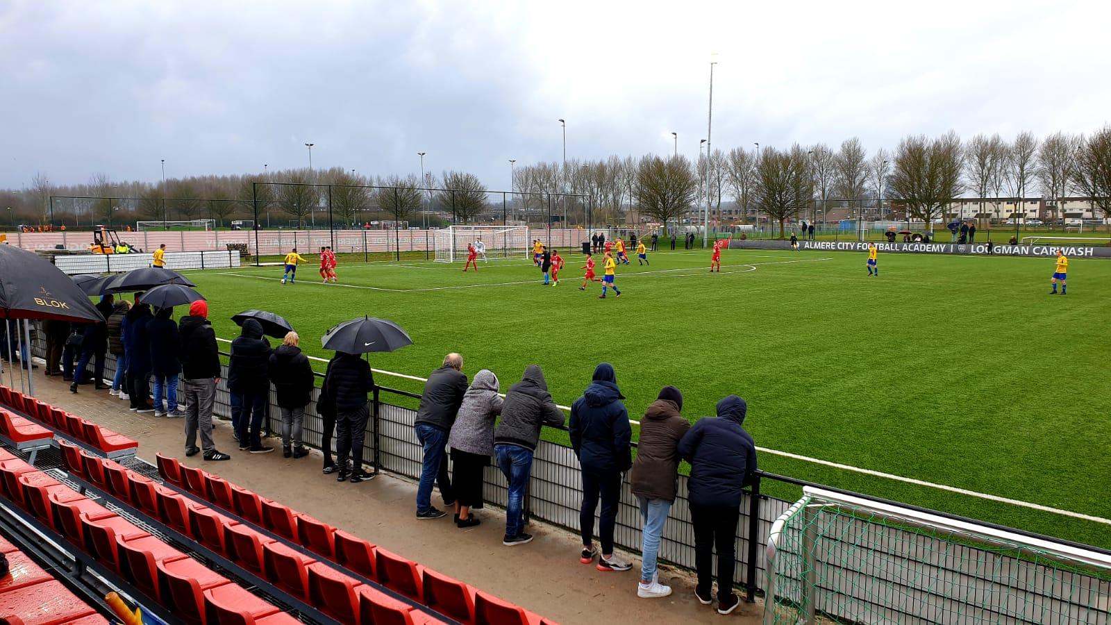Beloften Almere City spelen thuis gelijk tegen ODIN'59
