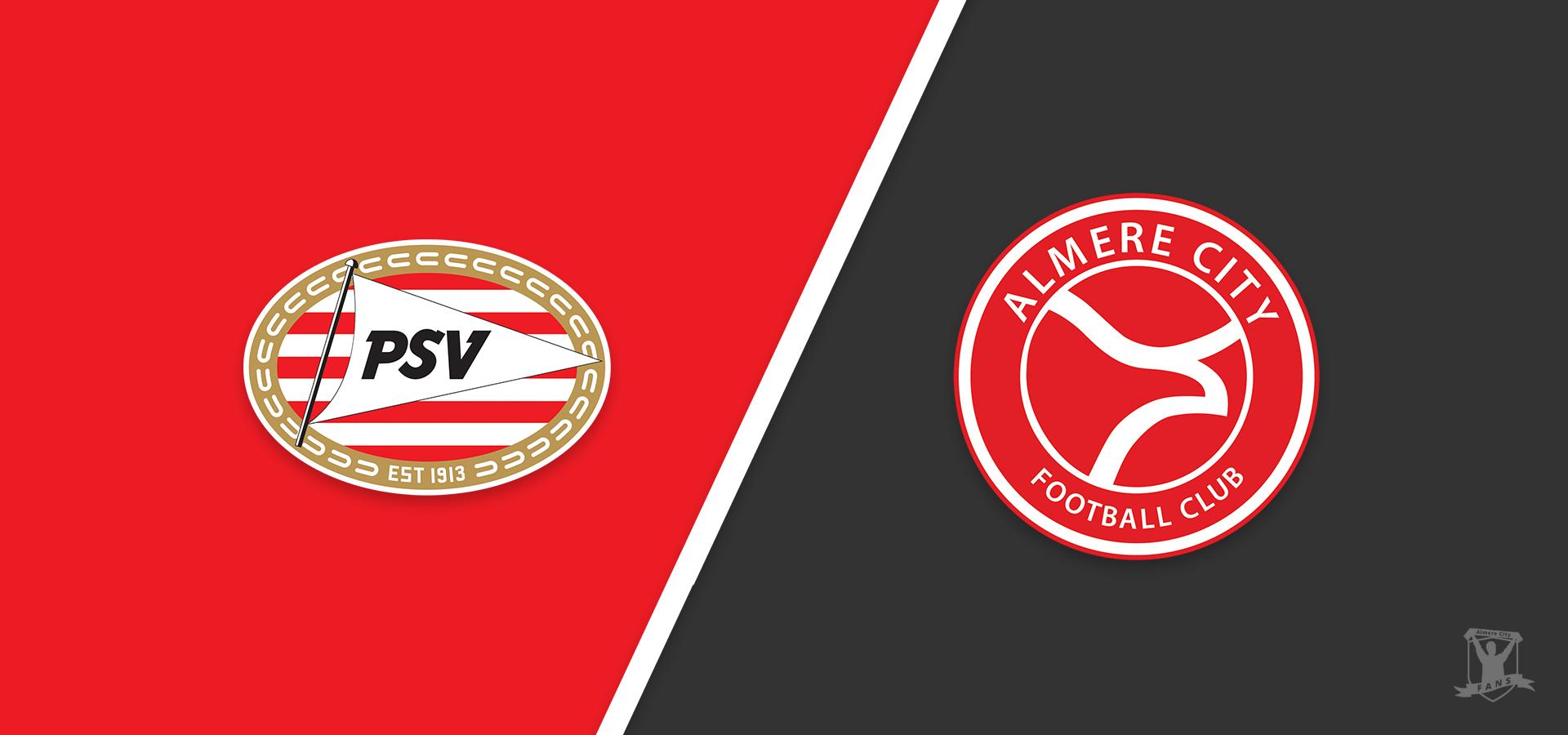 Almere City FC wil 2020 goed afsluiten bij Jong PSV