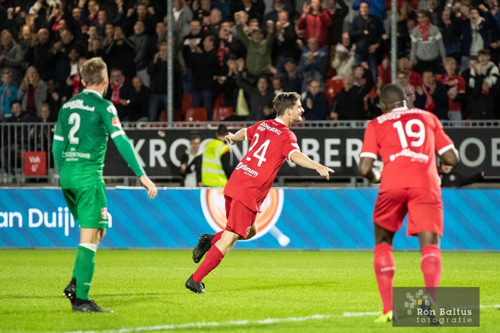 Yanmar Stadion blijkt onneembaar fort: Ook winst tegen FC Dordrecht