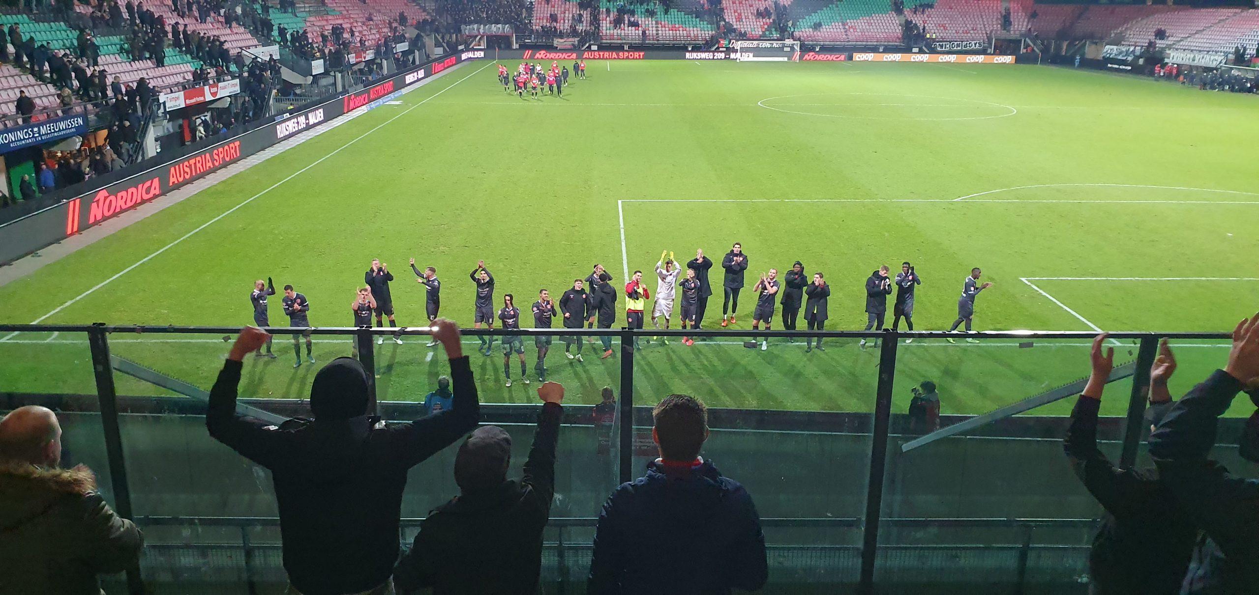 Mooie overwinning van Almere City FC bij N.E.C.
