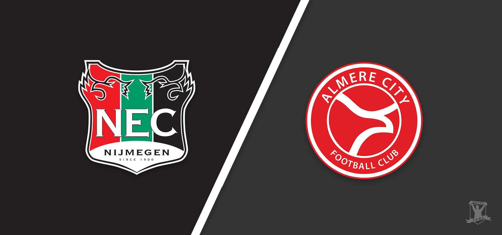 Voorbeschouwing: Almere City FC treft met NEC ploeg in vorm