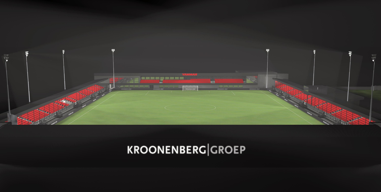Zo gaat het stadion eruit zien: de eerste impressies!