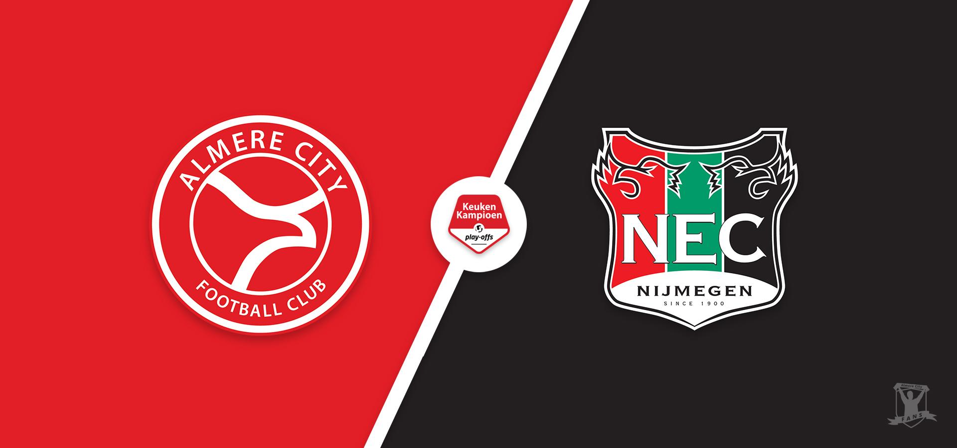 Voorbeschouwing: NEC Nijmegen eerste horde in de playoffs om promotie/degradatie