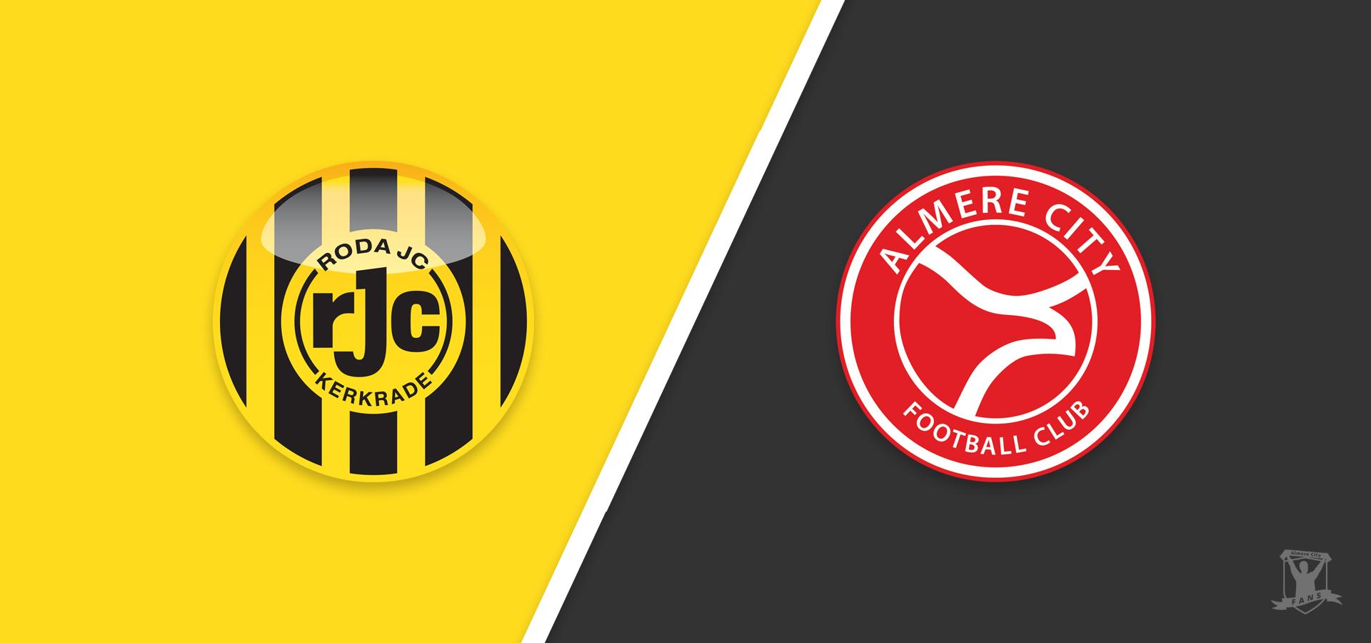 Voorbeschouwing: Almere City FC wil 2e plek vasthouden tegen Roda JC