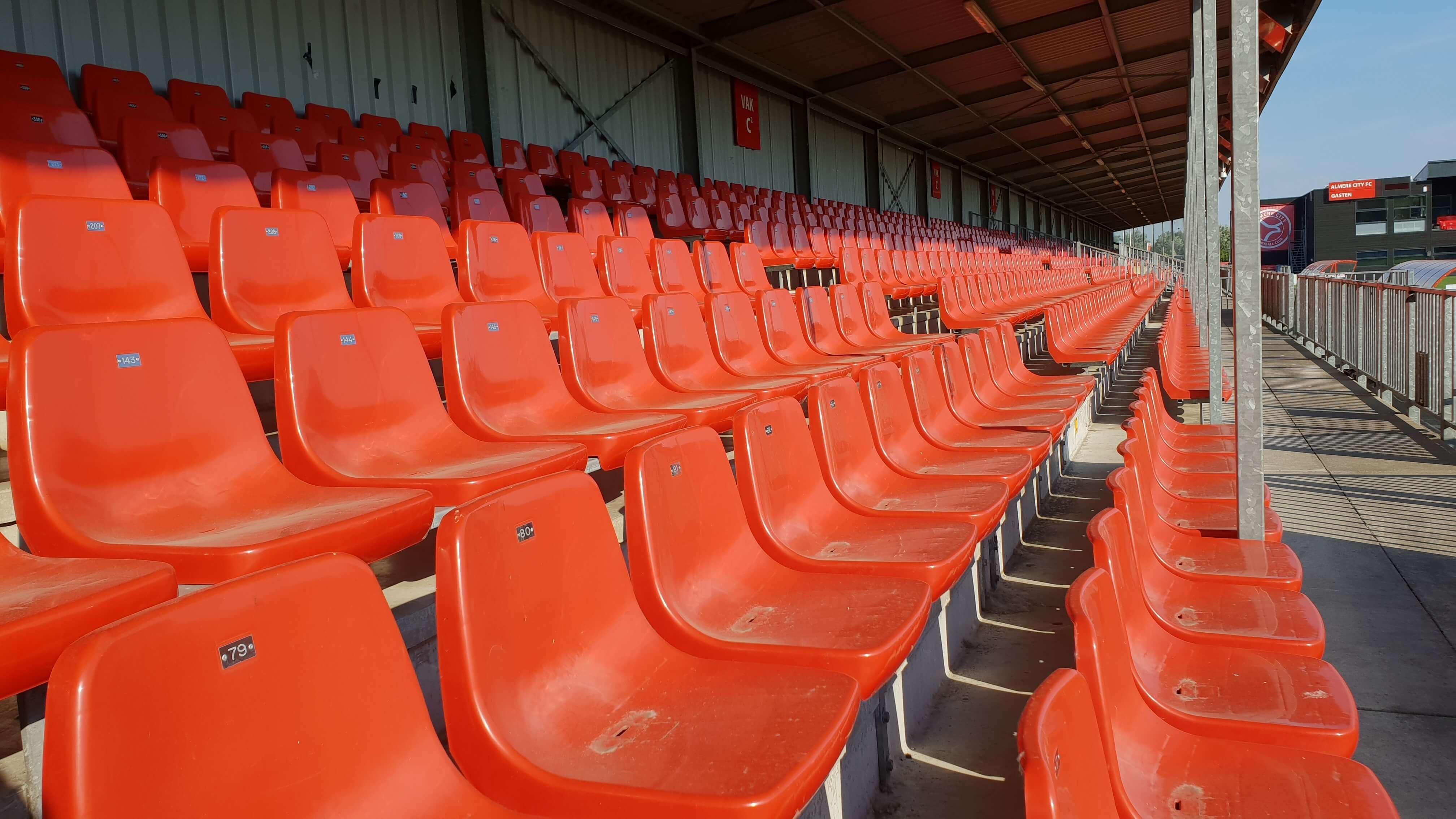 Wellicht komende zomer al uitbreiding Yanmar Stadion