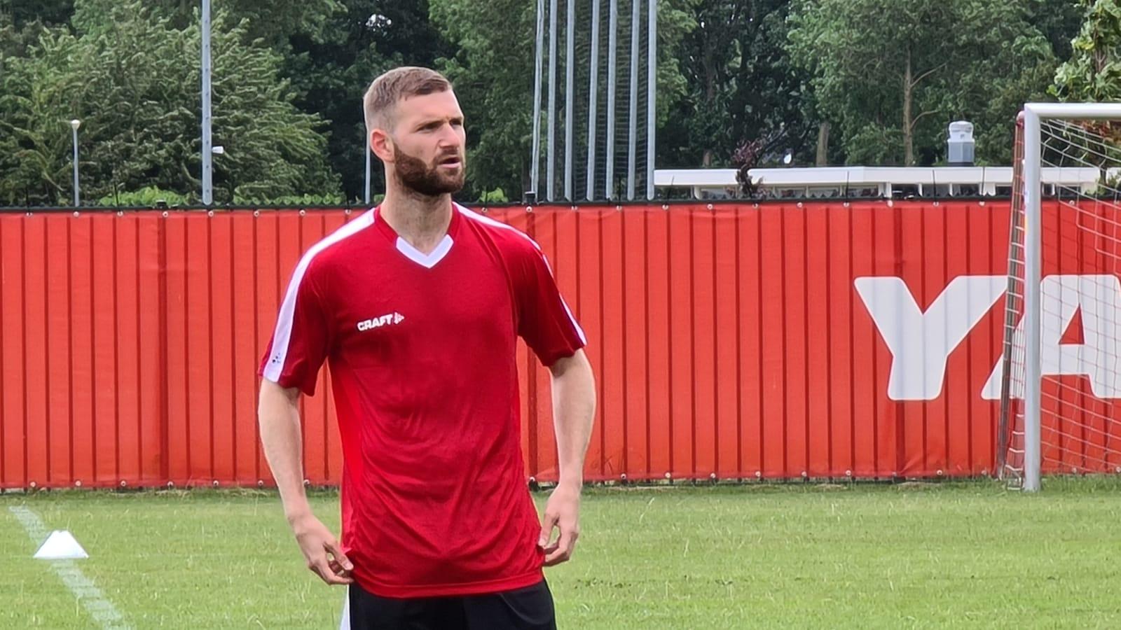 Franse proefspeler verschijnt op eerste training Almere City FC