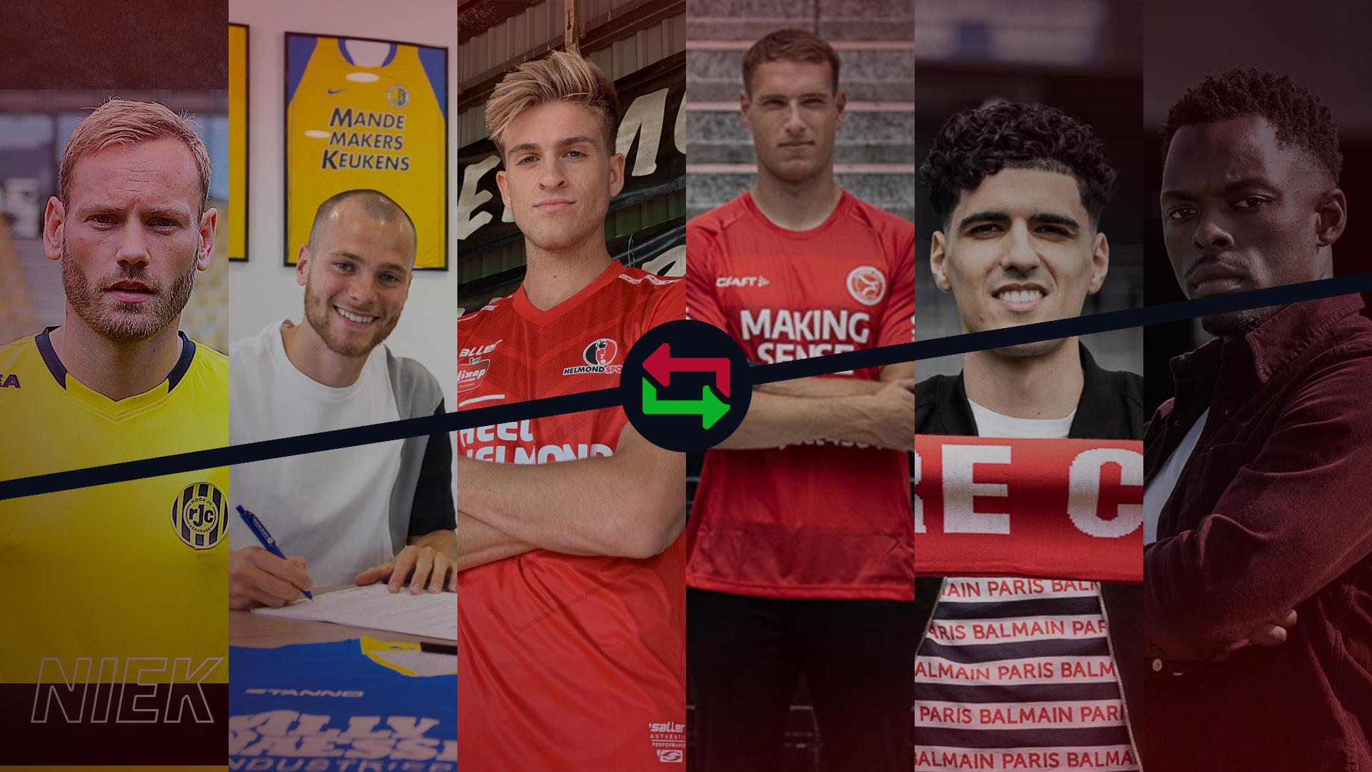 Transferoverzicht 2020: Veel spelers vertrokken, mix aan spelers gehaald