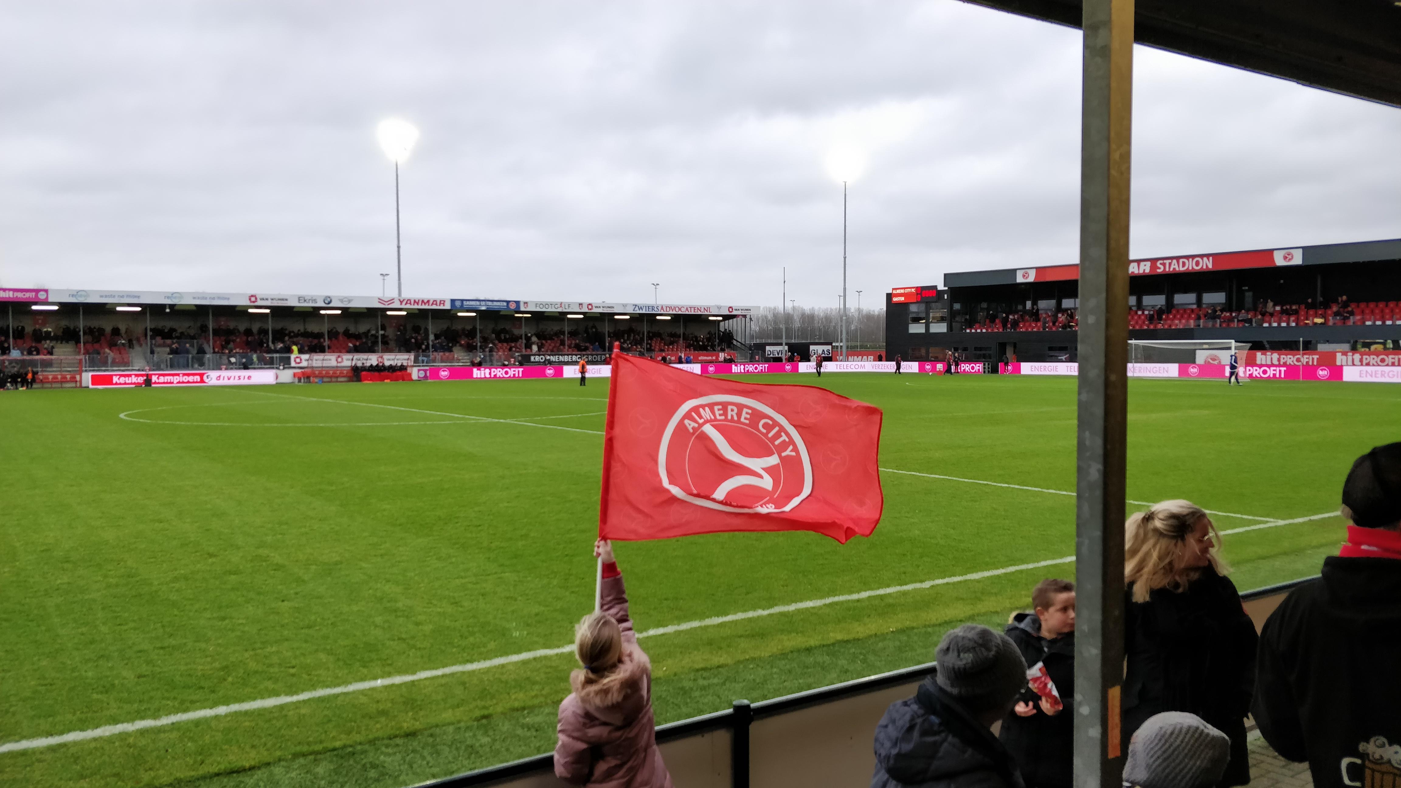 Tweede seizoenshelft begonnen met nederlaag tegen Volendam