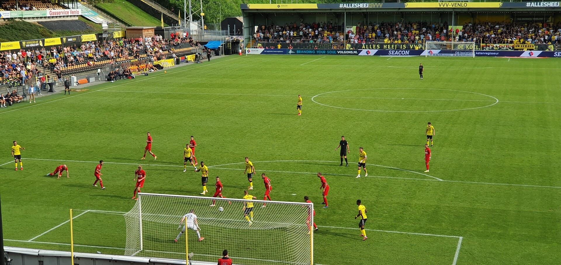 Goede eerste helft niet genoeg voor punten in Venlo